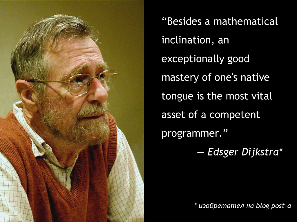 """""""Besides a mathematical inclination, an excepti..."""
