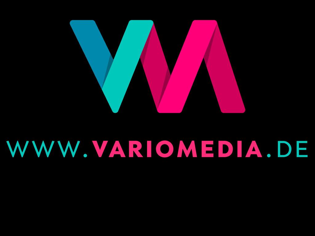 www.variomedia.de