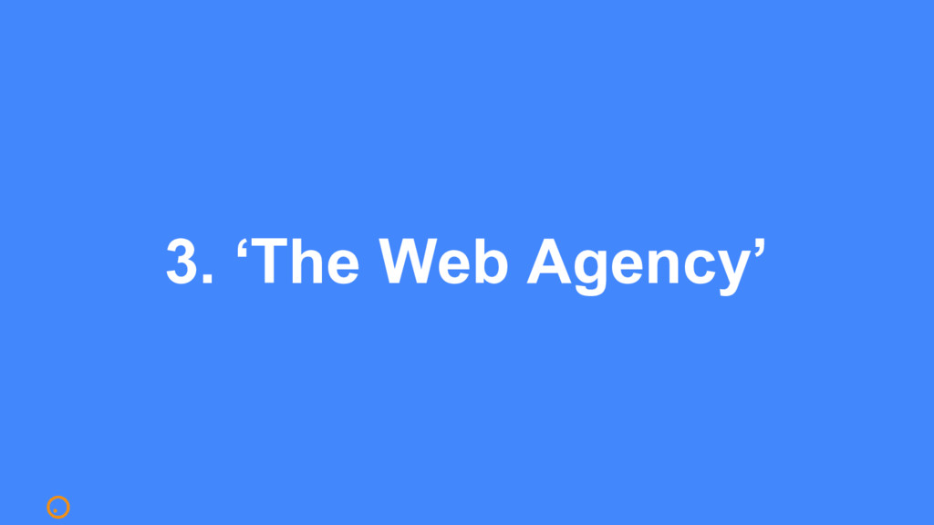 3. 'The Web Agency'