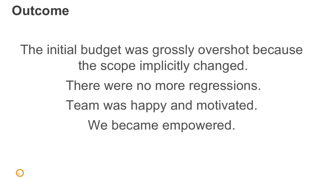 The initial budget was grossly overshot because...