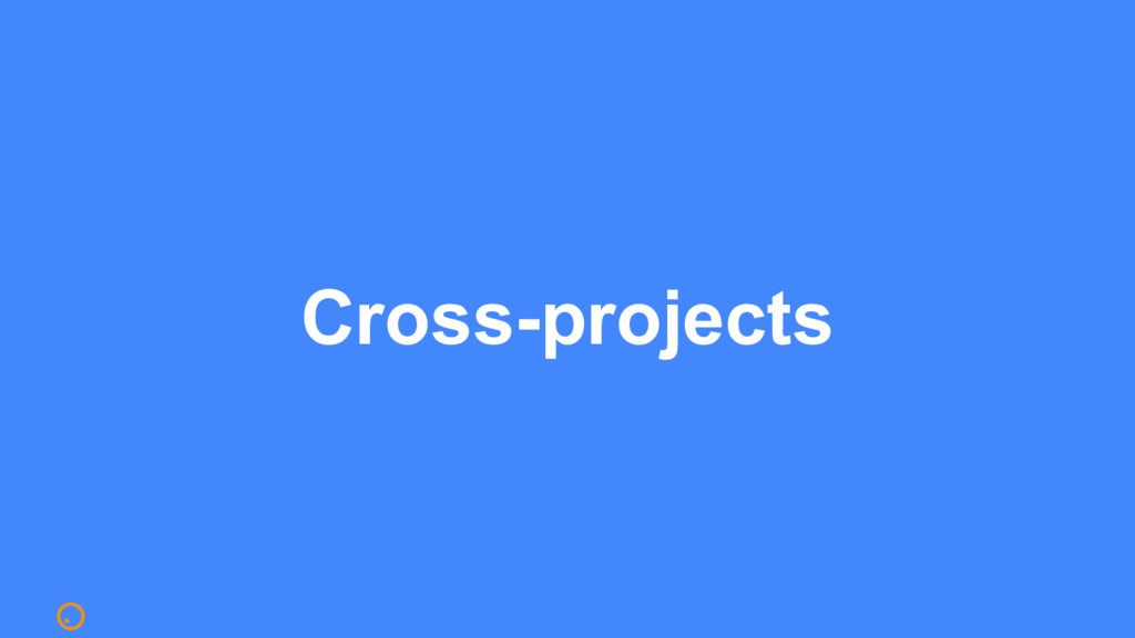 Cross-projects