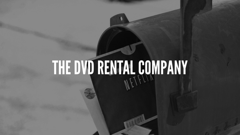 THE DVD RENTAL COMPANY
