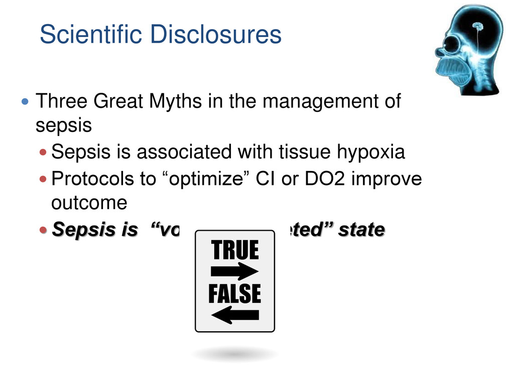 Scientific Disclosures  Three Great Myths in t...