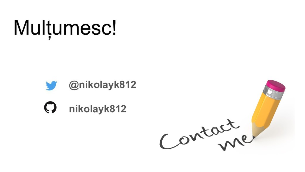 Mulțumesc! @nikolayk812 nikolayk812