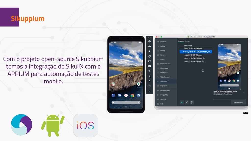 1 Sikuppium Com o projeto open-source Sikuppium...