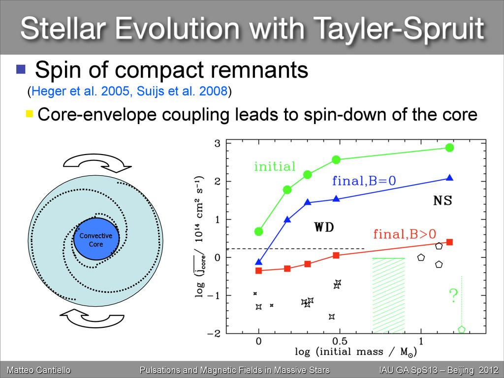 Stellar Evolution with Tayler-Spruit Matteo Can...