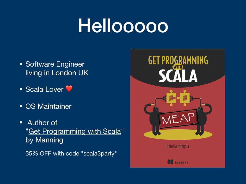Hellooooo • Software Engineer  living in Londo...
