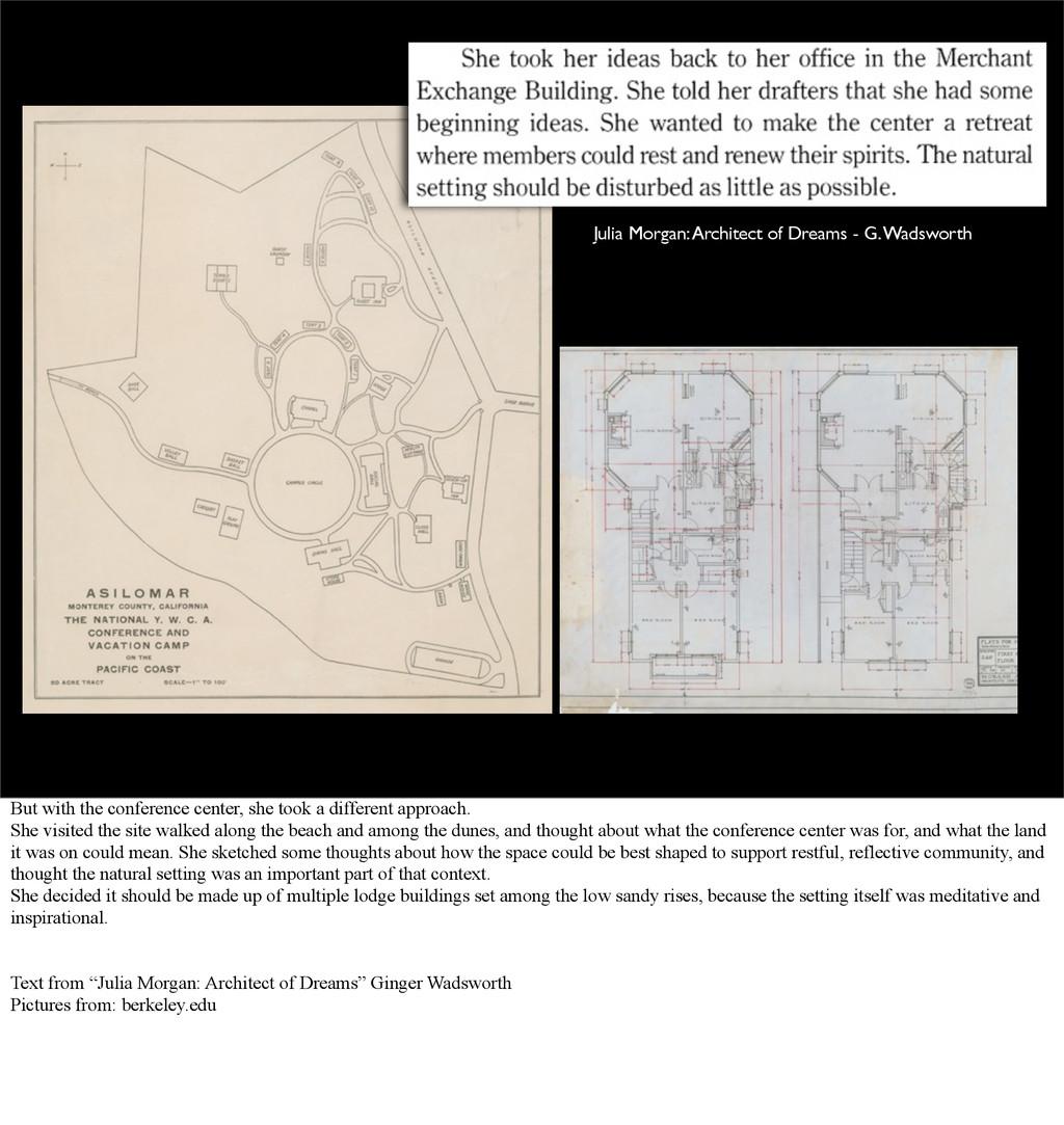 Julia Morgan: Architect of Dreams - G. Wadswort...