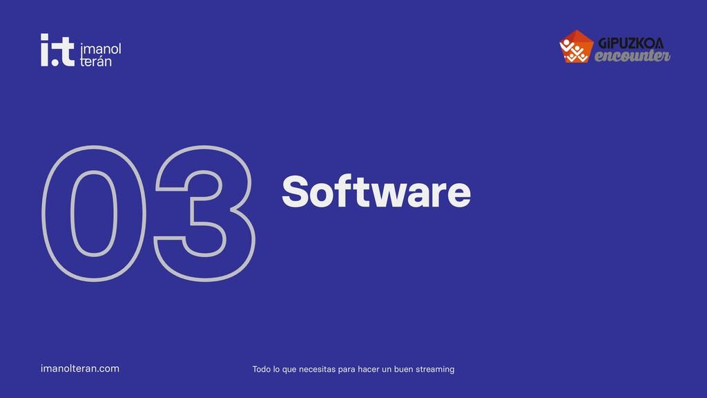 imanolteran.com 03Software Todo lo que necesita...