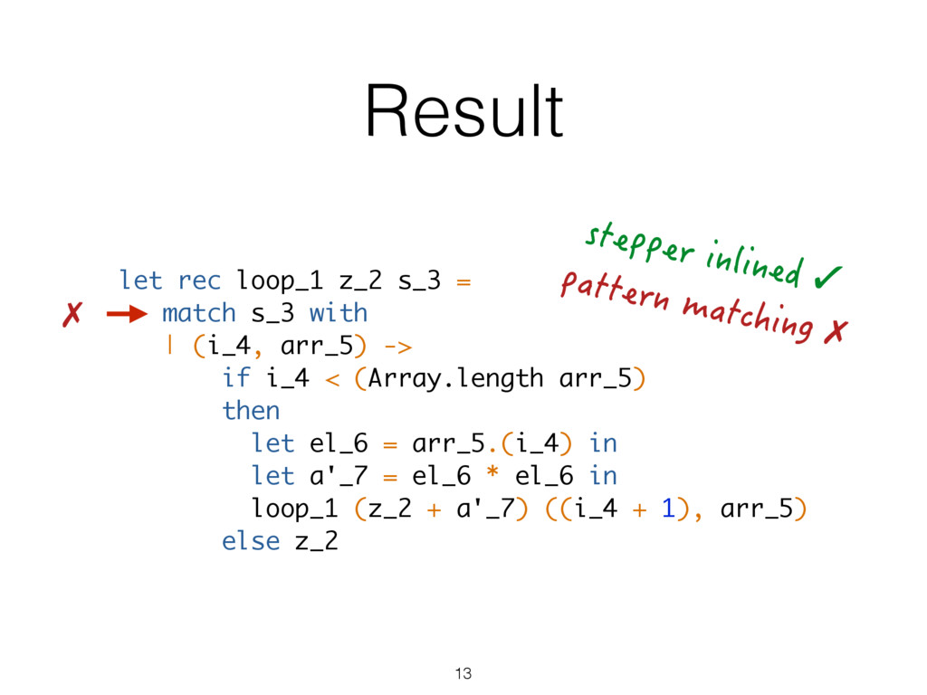 Result let rec loop_1 z_2 s_3 = match s_3 with ...