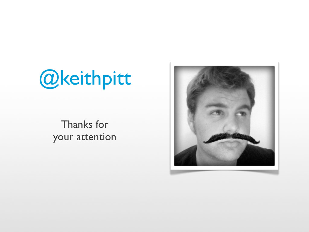 @keithpitt Thanks for your attention