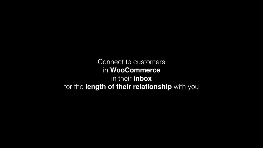 Connect to customers in WooCommerce in their in...