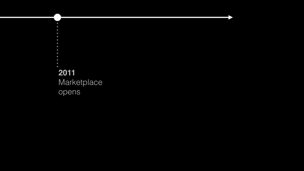 2011 Marketplace opens