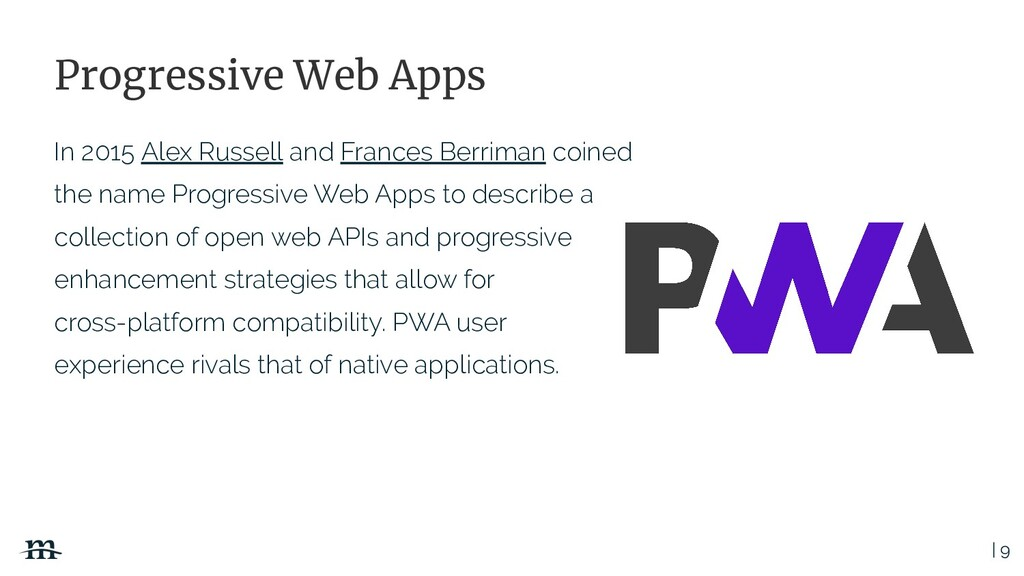 | 9 Progressive Web Apps In 2015 Alex Russell a...