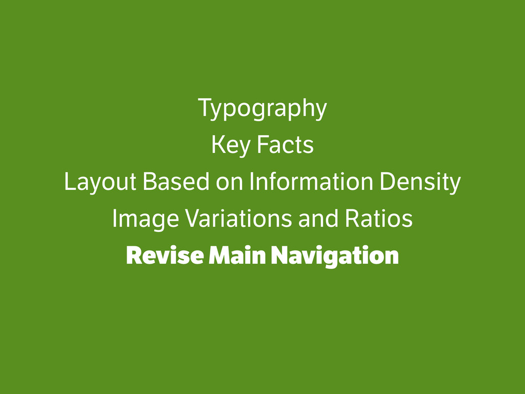 Typography Key Facts Layout Based on Informatio...