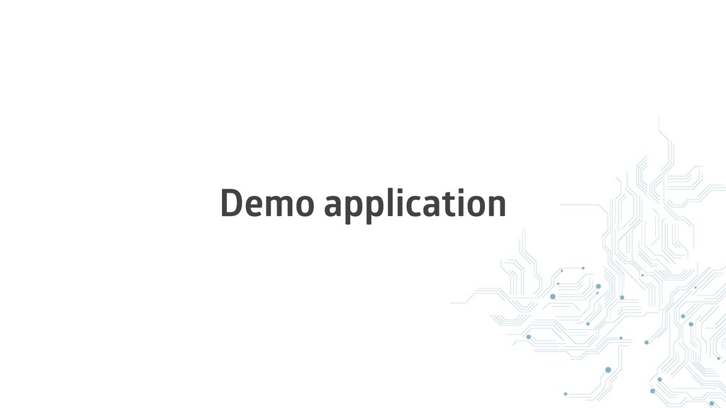 Demo application