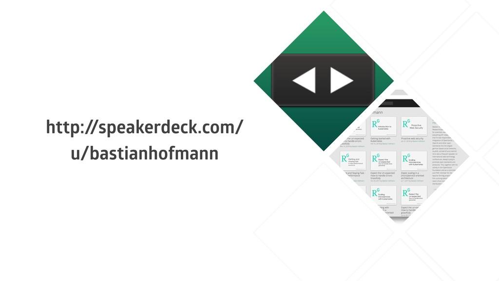 http:/ /speakerdeck.com/ u/bastianhofmann