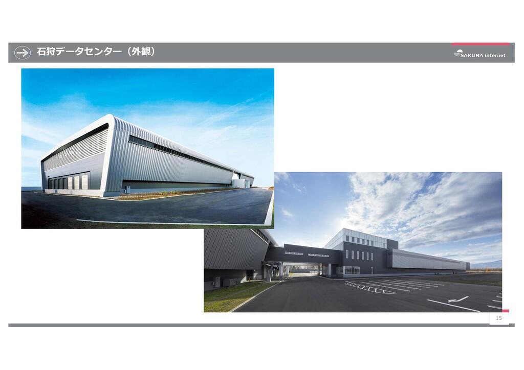 ⽯狩データセンター(外観) 15