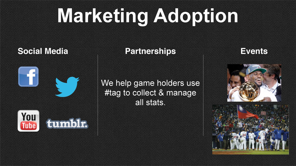 Marketing Adoption Partnerships Events Social M...