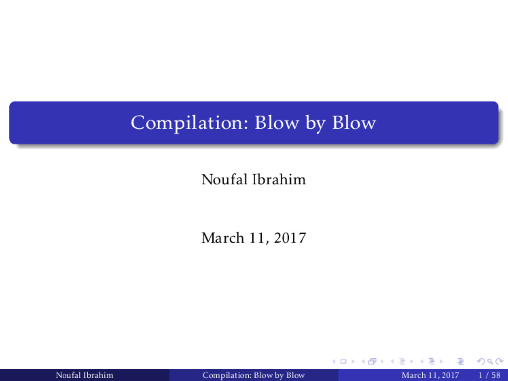 Compilation: Blow by Blow Noufal Ibrahim March ...