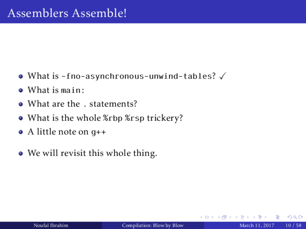 Assemblers Assemble! What is -fno-asynchronous-...