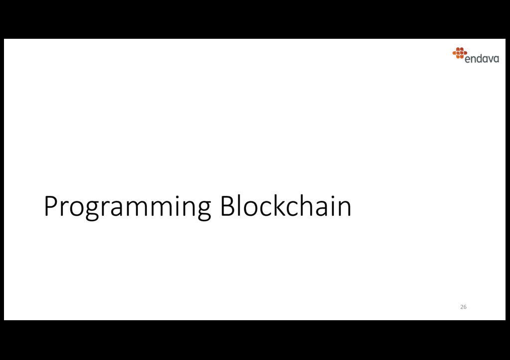 Programming Blockchain 26