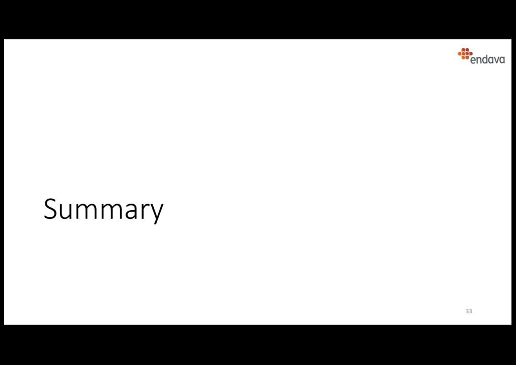 Summary 33
