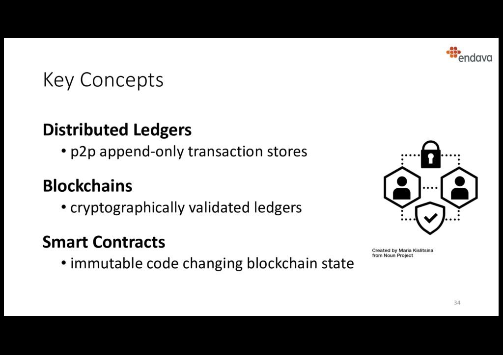 Key Concepts 34 Distributed Ledgers • p2p appen...