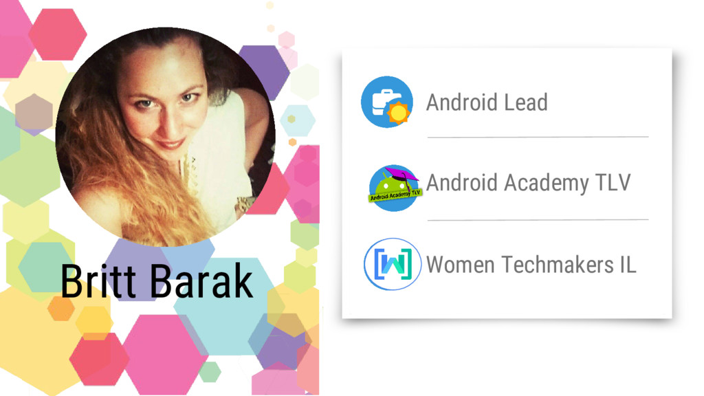 Android Lead Android Academy TLV Women Techmake...