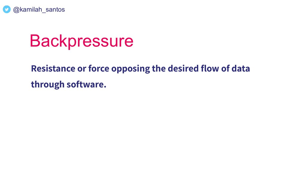 Backpressure Resistance or force opposing the d...