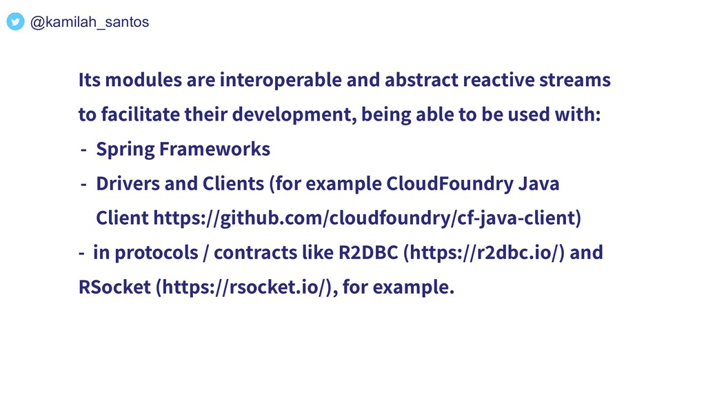 Its modules are interoperable and abstract reac...