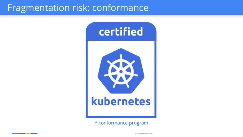 Google Cloud Platform * conformance program Fra...