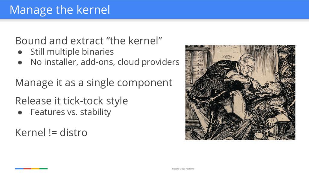 "Google Cloud Platform Bound and extract ""the ke..."