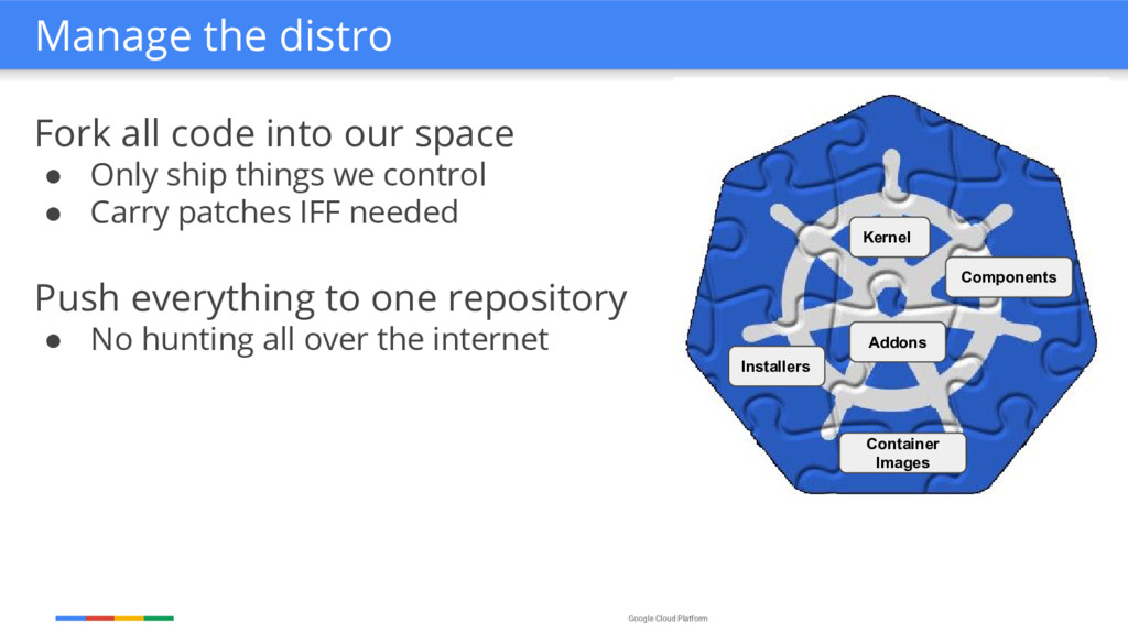 Google Cloud Platform Fork all code into our sp...