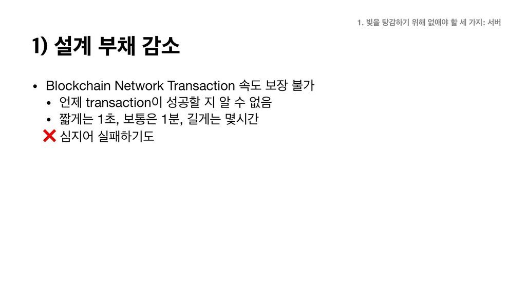 • Blockchain Network Transaction ࣘب ࠁ ࠛо  • ઁ...