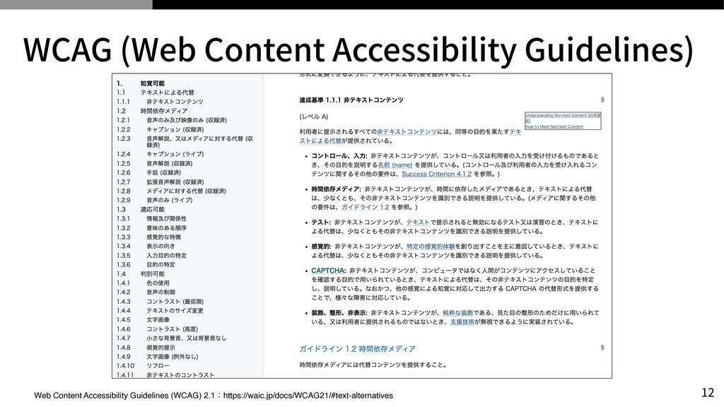 WCAG (Web Content Accessibility Guidelines) Web...