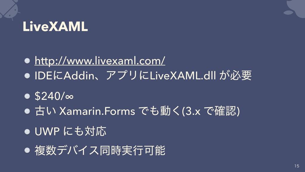 LiveXAML http://www.livexaml.com/ IDEʹAddinɺΞϓϦ...