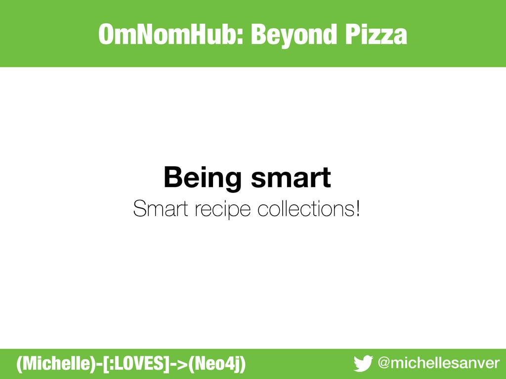 OmNomHub: Beyond Pizza @michellesanver Being sm...