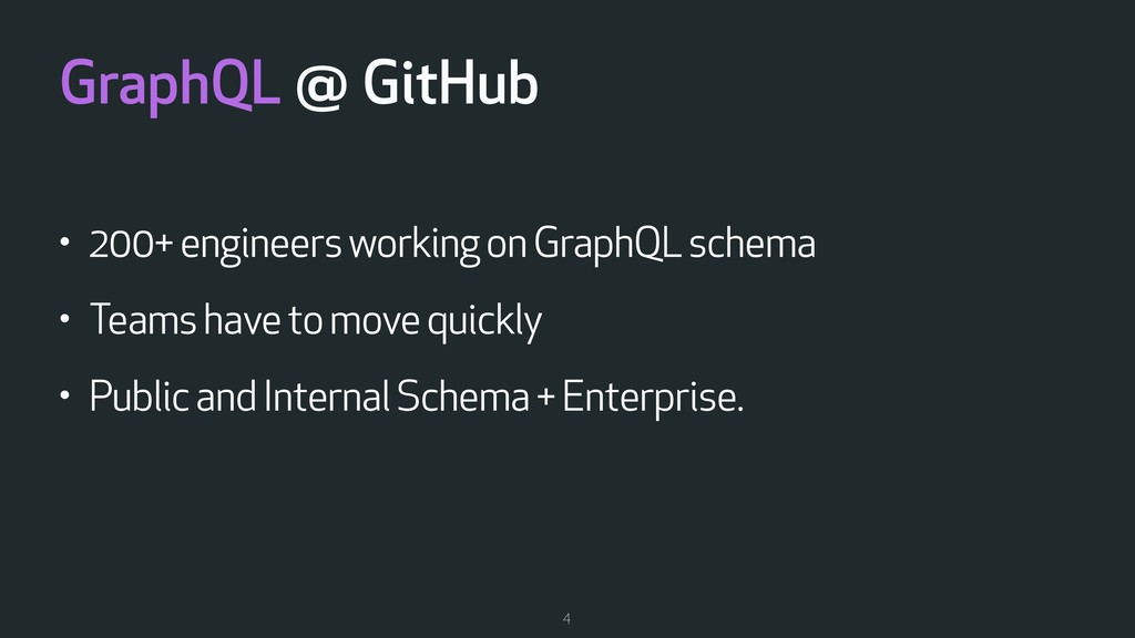 GraphQL @ GitHub • 200+ engineers working on Gr...