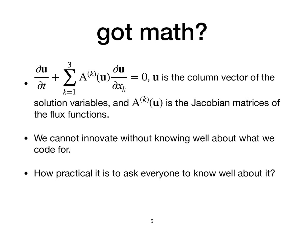 got math? • , is the column vector of the solut...
