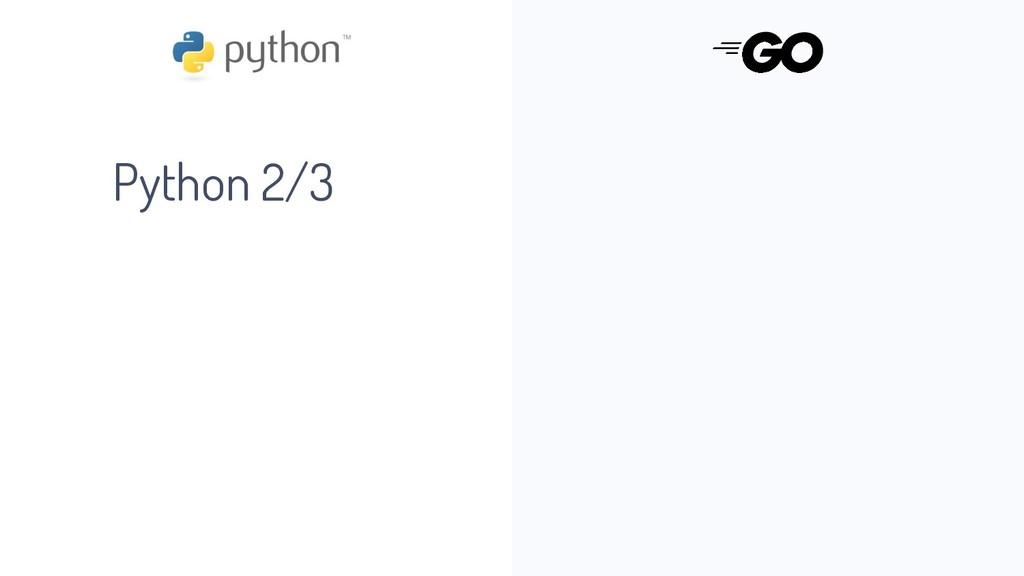 Python 2/3
