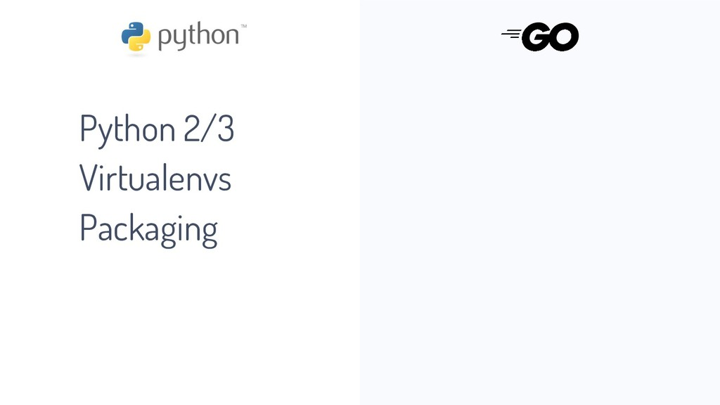 Python 2/3 Virtualenvs Packaging