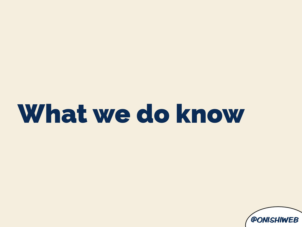 @onishiweb What we do know