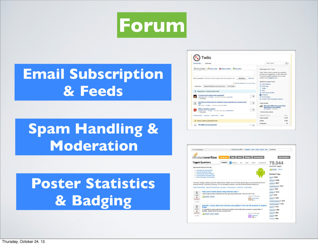 Forum Email Subscription & Feeds Spam Handling ...
