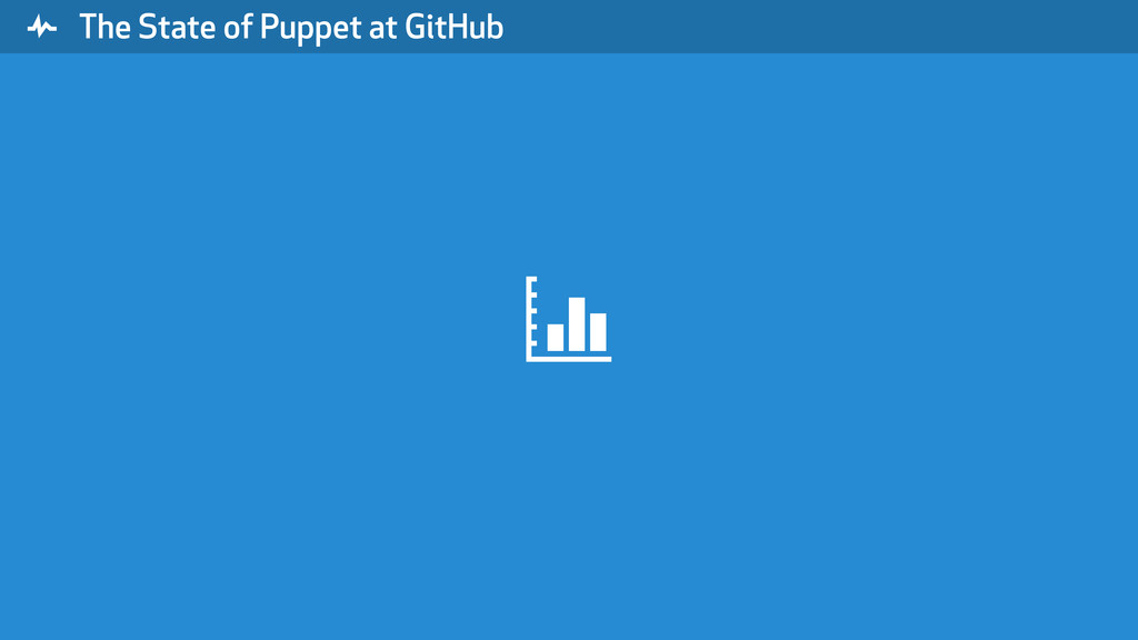""" The State of Puppet at GitHub $"
