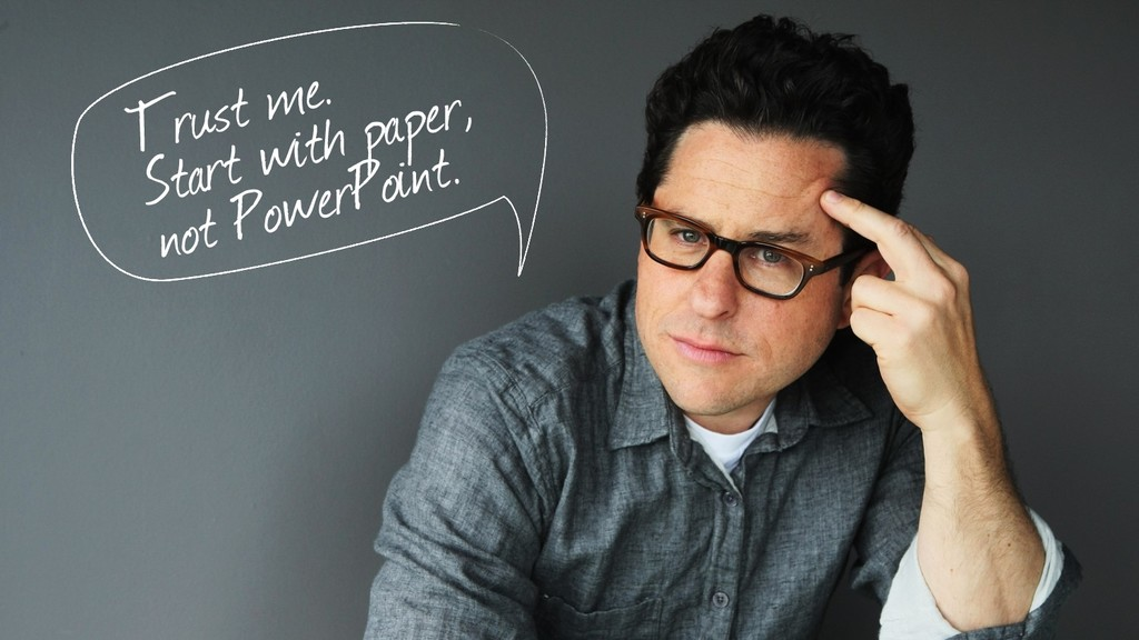 Trust me. Start with paper, not PowerPoint.