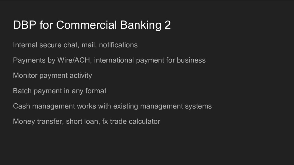 DBP for Commercial Banking 2 Internal secure ch...