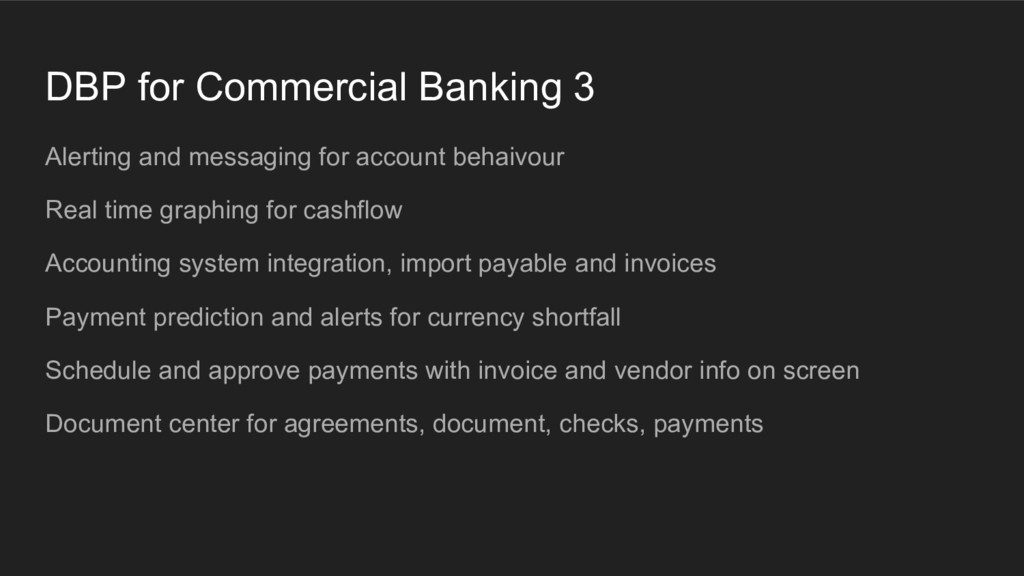 DBP for Commercial Banking 3 Alerting and messa...