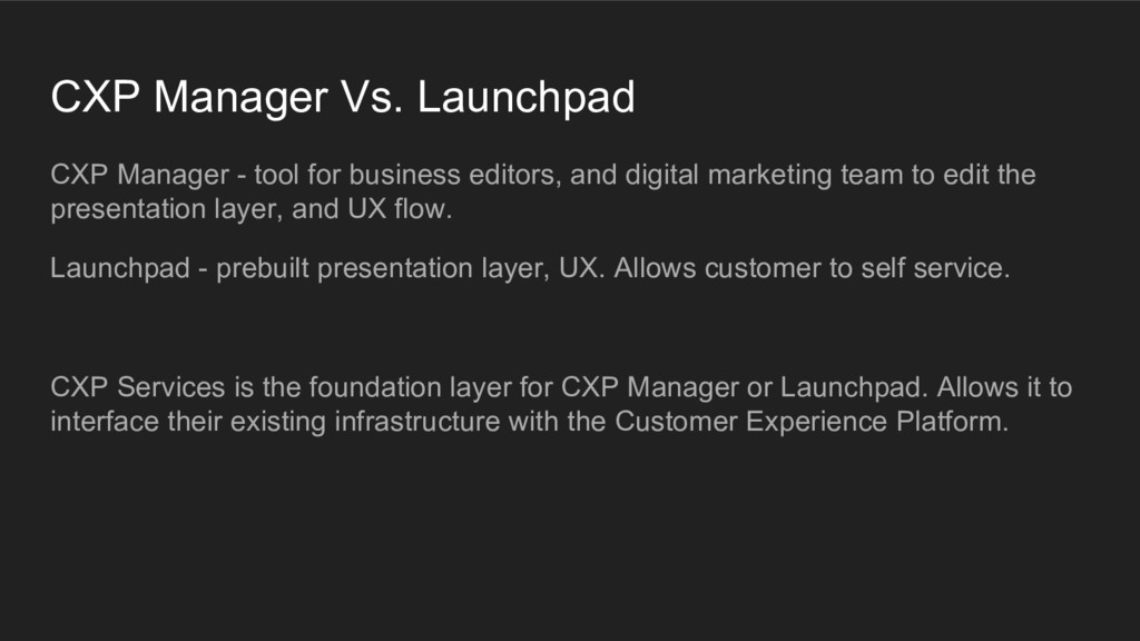 CXP Manager - tool for business editors, and di...