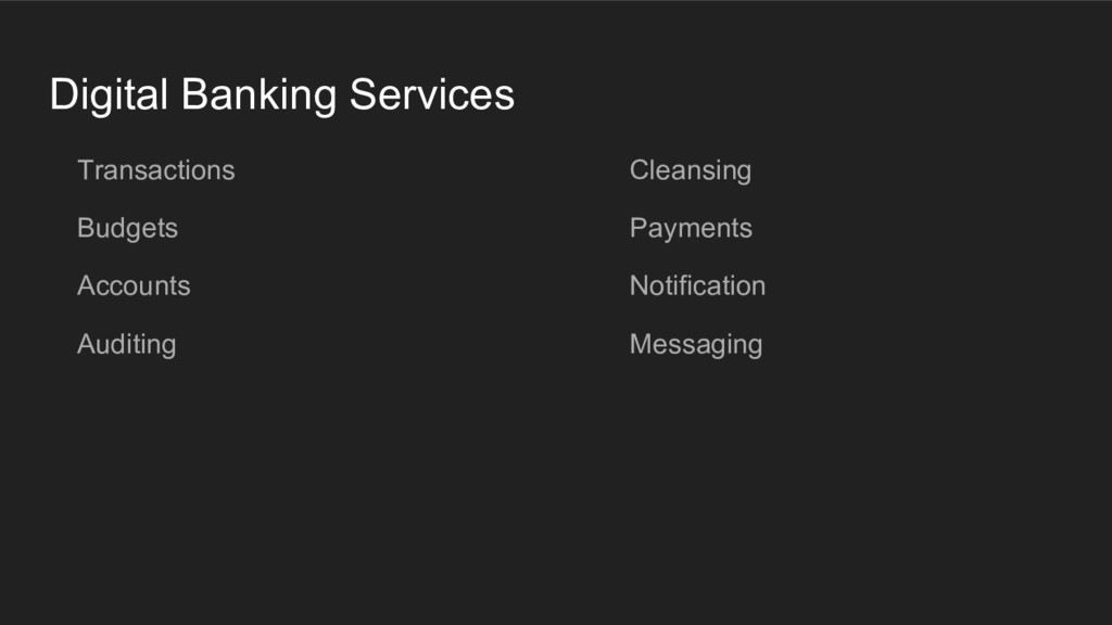 Digital Banking Services Transactions Budgets A...